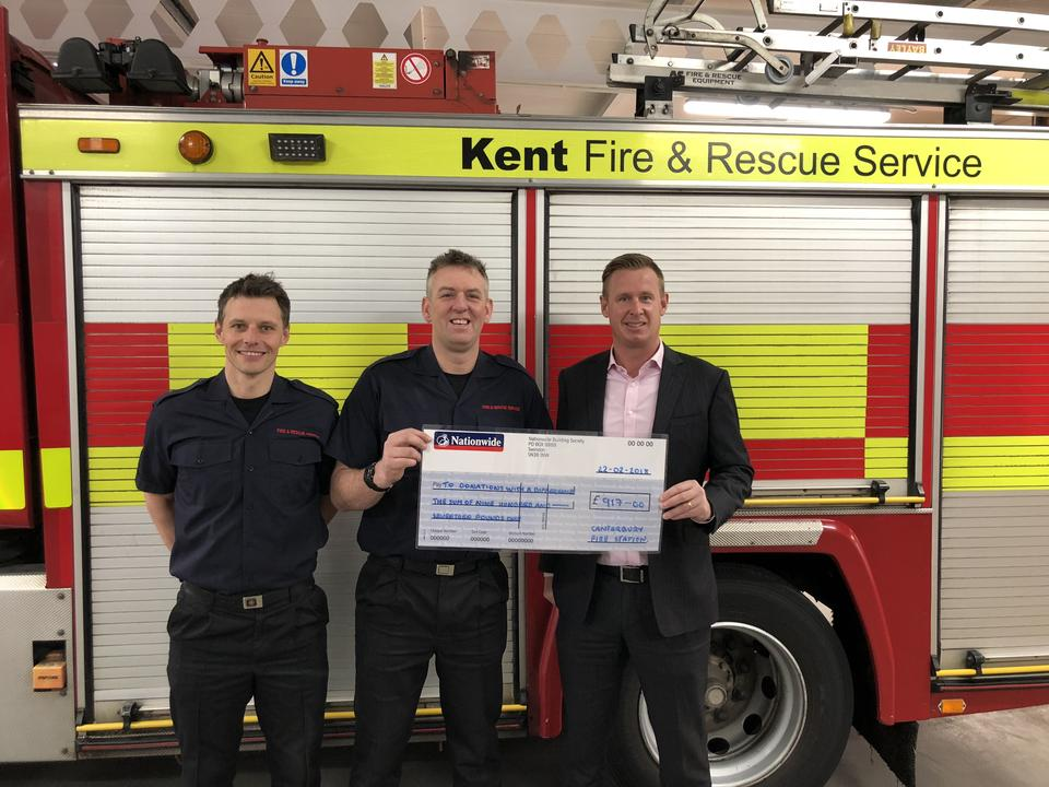 Canterbury Fire Station Supports Donations With A Difference