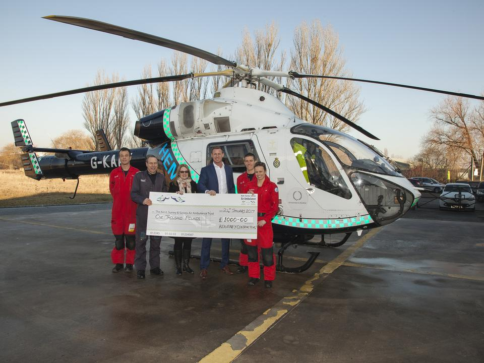 Air Ambulance Benefits from a Very Charitable Gesture