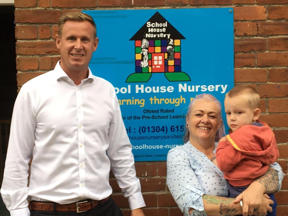 DWAD Provides Support to Local Nursery