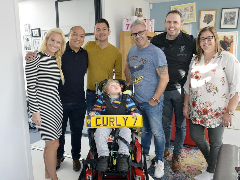 Curly's Power Chair Gets a Finishing Touch
