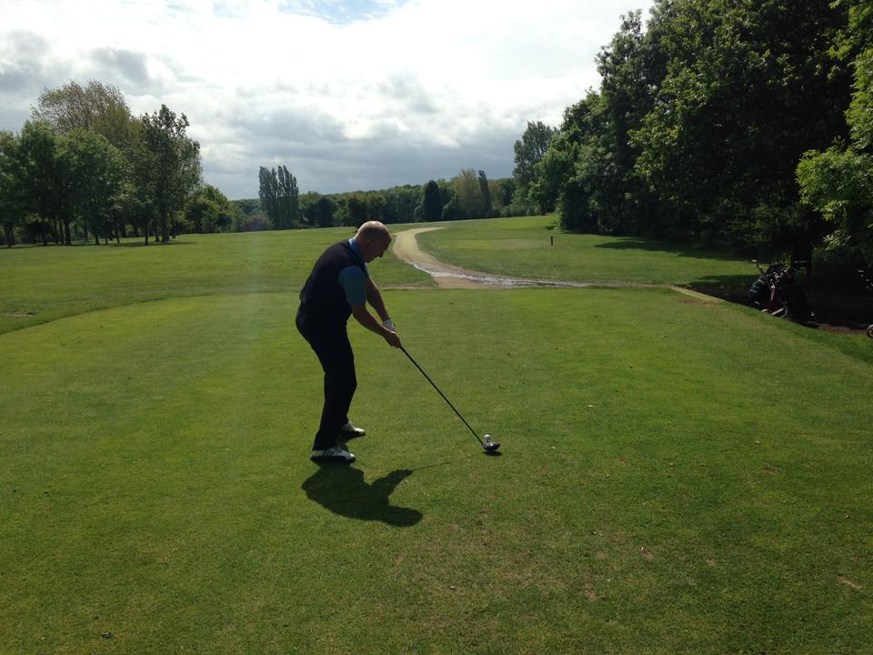 Our first Golf Day raised £1,800