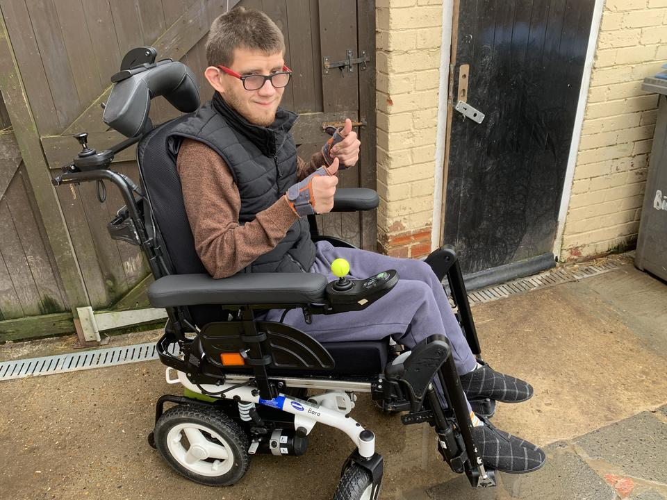 PJ Is Thriving in His New Wheelchair