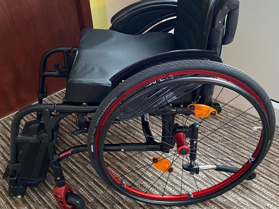 Stephanie's Wheelchair Making the World of Difference