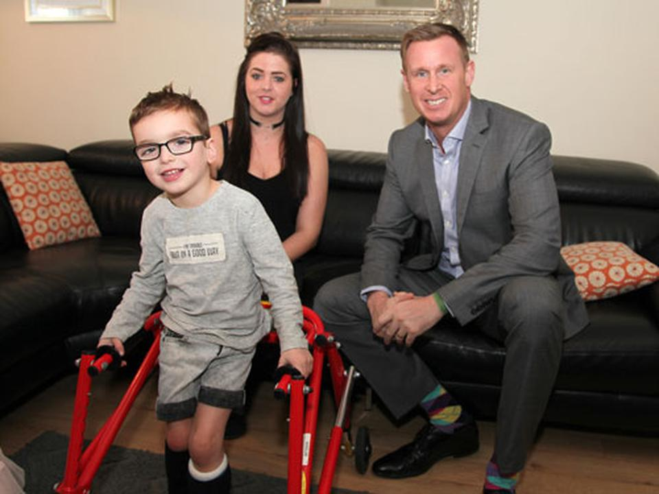 DWAD Boost for 5-year-old Theo's Mission to Walk