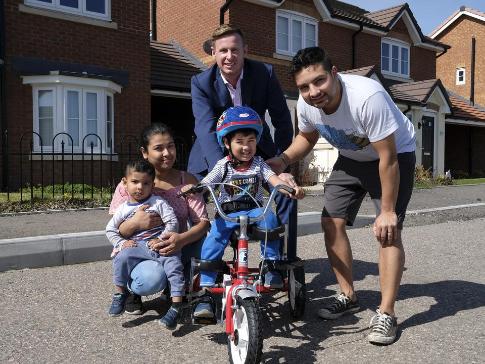 3-Year-Old Sheppey Boy Gets Vital Mobility Help