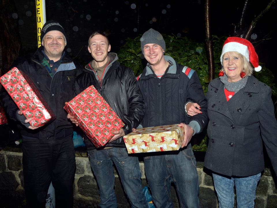 DWAD Delivers Christmas Goodwill to Homeless
