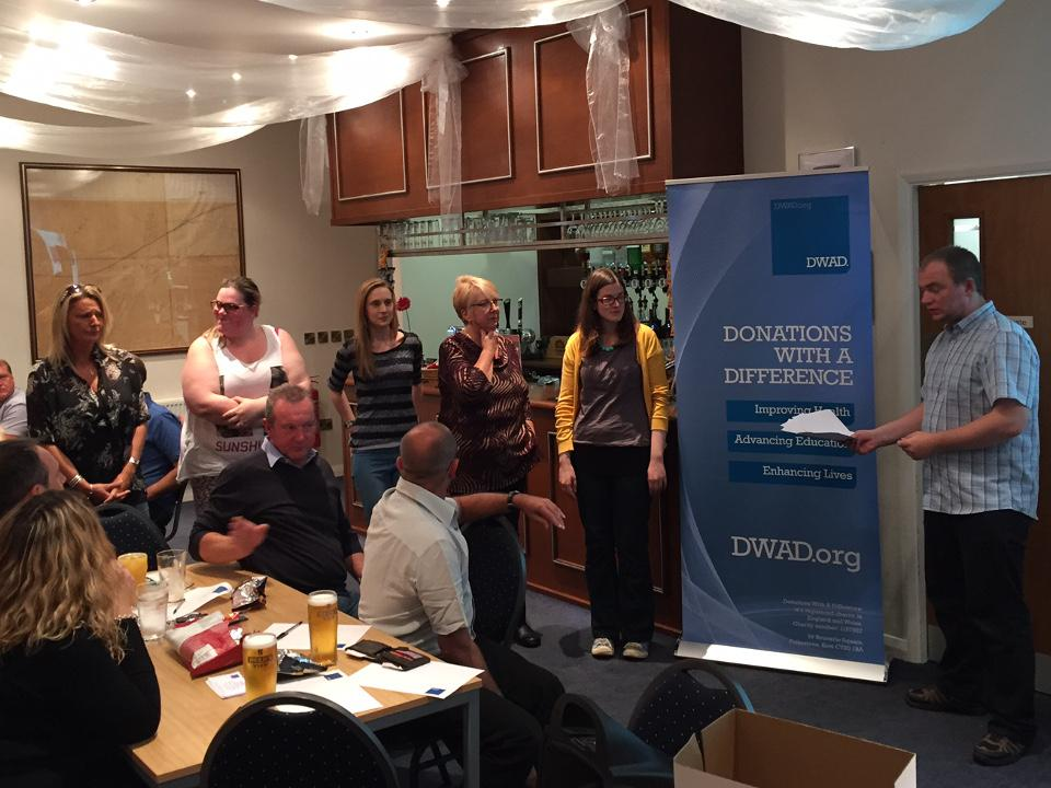 Another Successful DWAD Quiz & Raffle