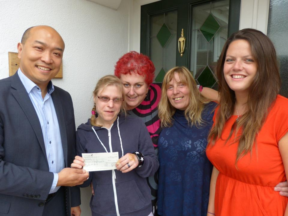 DWAD Funds Equipment for SeeAbility Residents