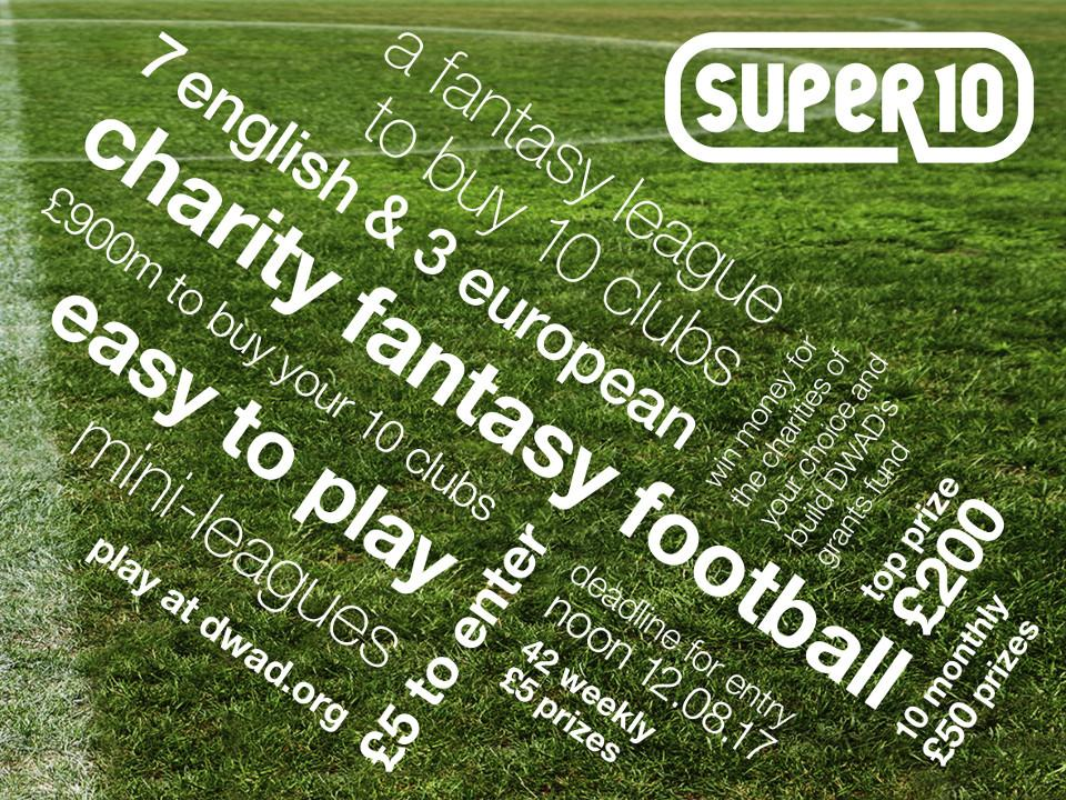 Super10 Football Game - Over £1,000 in Cash Prizes