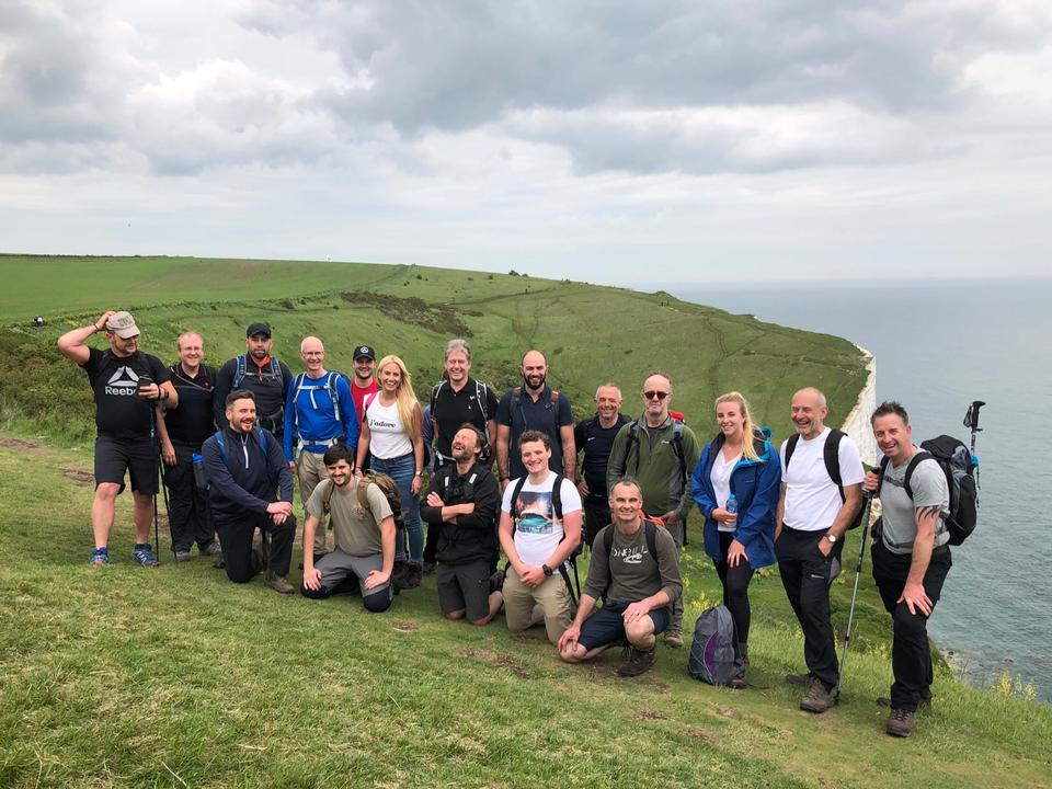 Team Jenner's 3 Peaks Challenge in Support of DWAD